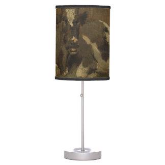 Cow lying down painting, Anton Mauve Desk Lamp