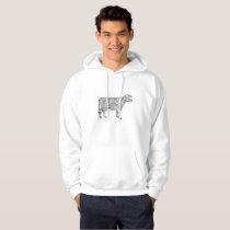 Cow Mandala Cow Lover Hoodie