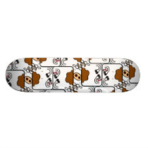 Cow Matrix Skateboard Deck