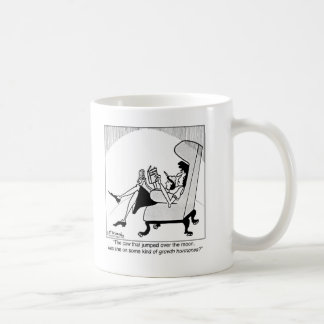 Cow, Moon & Growth Hormones Coffee Mug