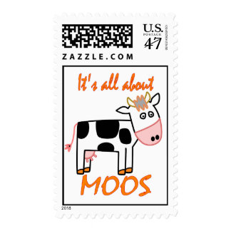 Cow Moos Postage