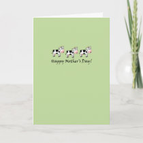 Cow Mother's Day Card
