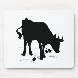 cow mouse pad