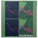 Cow Night Light Napkins