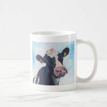 Cow No 01. 0254 Irish Friesian Cow Coffee Mug