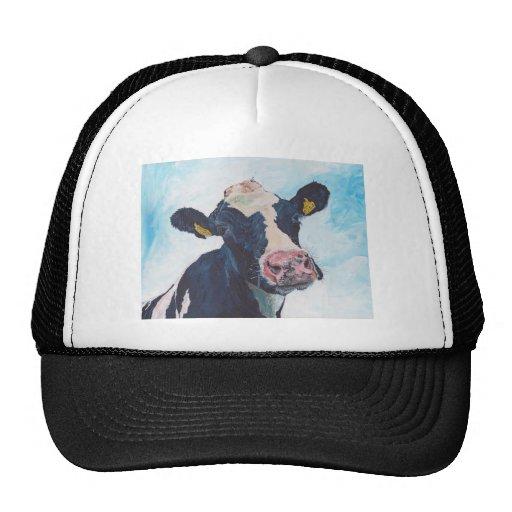 Cow No 01. 0254 Irish Friesian Cow Trucker Hat