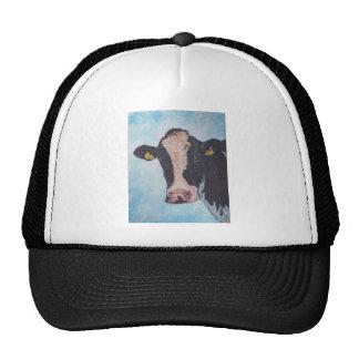 Cow no 02. 0566 Irish Friesian Cow Trucker Hat