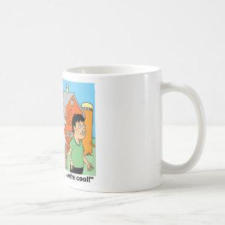 COW / NOSE RING / FARMER KID CARTOON GIFTWARE COFFEE MUG