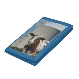 Cow & Nuclear Power Cooling Tower Wallets