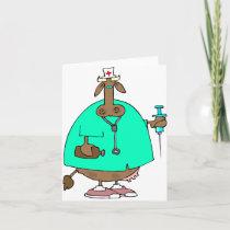 Cow Nurse Note Cards