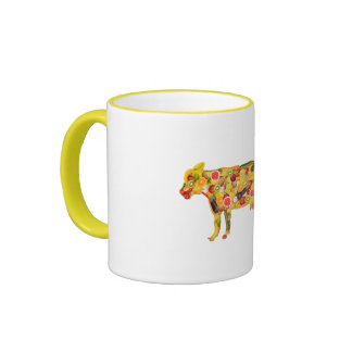 Cow OF fruits and vegetables. ADD your own text! Coffee Mug