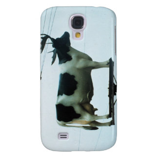Cow on a Telephone Pole Galaxy S4 Cover