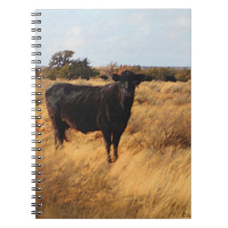 Cow on the Range Spiral Notebooks