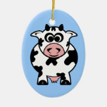 Cow Ornament (double sided)