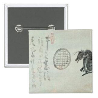 Cow, Oval Window and Haiku Button