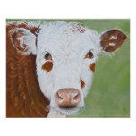 Cow Painting 16 x 20 Print