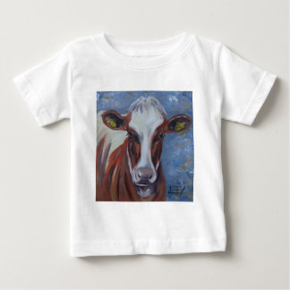 Cow Painting, Cow Decor, Cow Art, Dairy Cow Baby T-Shirt