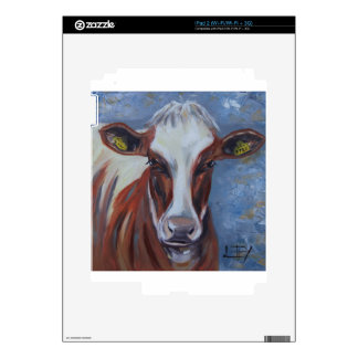 Cow Painting, Cow Decor, Cow Art, Dairy Cow iPad 2 Decals