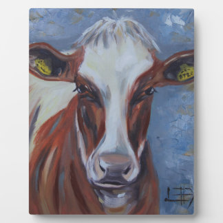 Cow Painting, Cow Decor, Cow Art, Dairy Cow Plaque