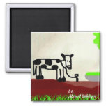 Cow painting Magnet