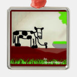 Cow painting Ornament