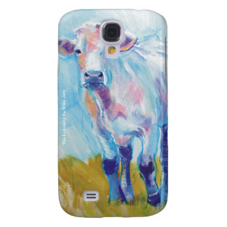 Cow Painting Samsung Galaxy S4 Cases