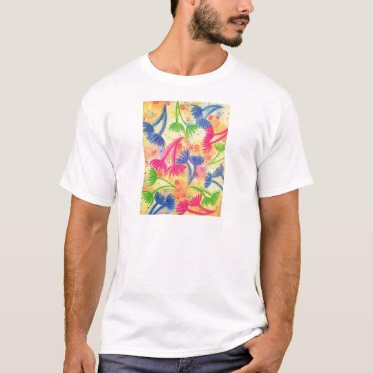COW PARSLEY 2 - Cheerful Yellow Cherry Acid Green T-Shirt