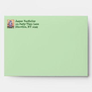 Cow Party Center Envelope