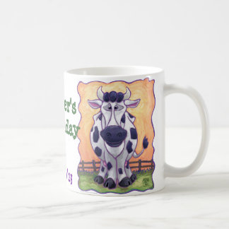 Cow Party Center Classic White Coffee Mug