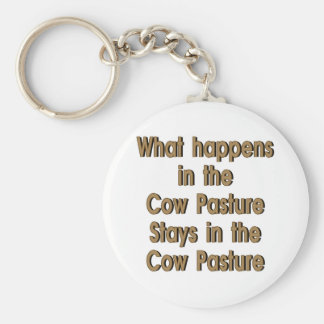 Cow Pasture Keychain