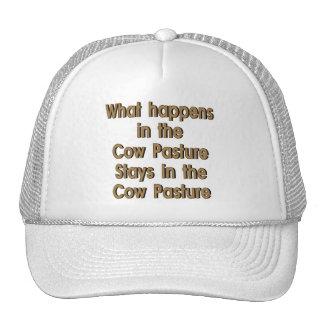 Cow Pasture Trucker Hat