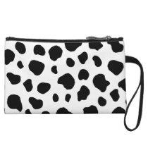 Cow Pattern Animal Print Wristlet Wallet
