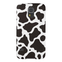 Cow pattern background galaxy s5 case