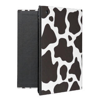 Cow pattern background iPad cover