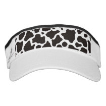Cow pattern background visor