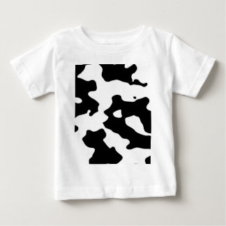 Cow Pattern Black and White Baby T-Shirt