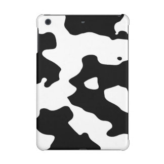 Cow Pattern Black and White iPad Mini Cases