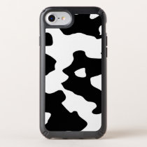 Cow Pattern Black and White Speck iPhone Case