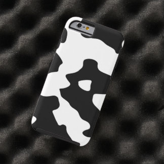 Cow Pattern Black and White Spots iPhone 6 Case