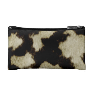 Cow Pattern Cosmetic Bag