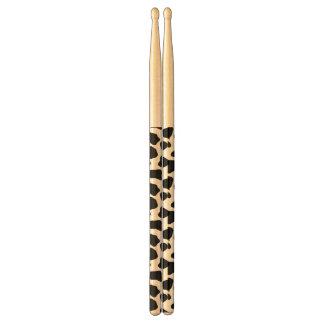 Cow pattern drum sticks
