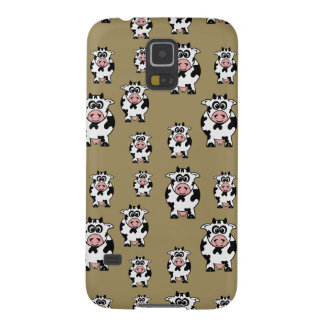 Cow Pattern Galaxy S5 Cases