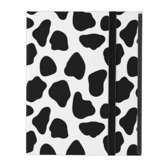 Cow pattern iPad folio case