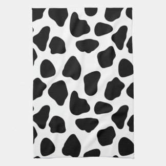 Cow pattern kitchen towel