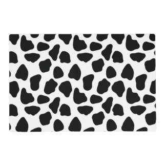 Cow pattern placemat