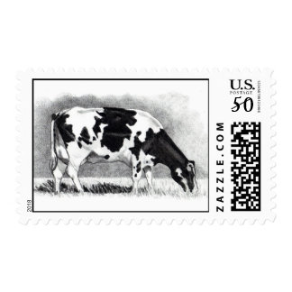 COW PENCIL ART STAMP
