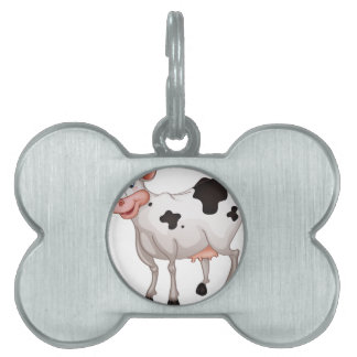 Cow Pet Tag