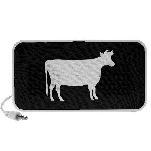 Cow Pictogram Doodle Speaker