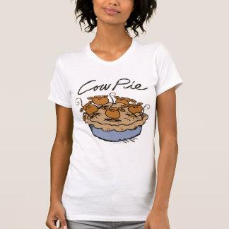Cow Pie Ladies Casual Scoop Tshirts