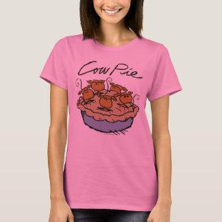 Cow Pie Ladies Long Sleeve T-Shirt